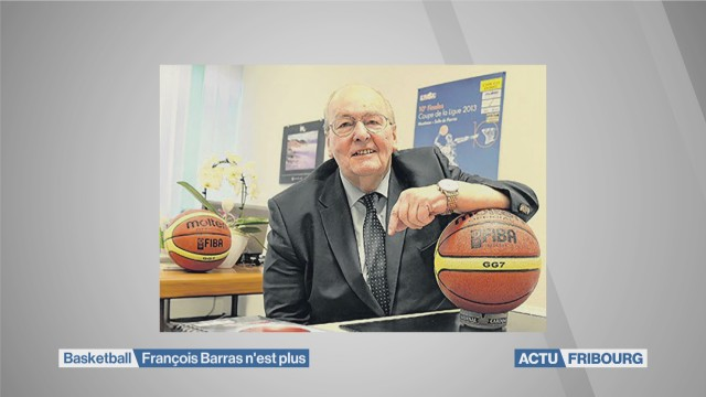 Le milieu du basket en deuil: François Barras n'est plus