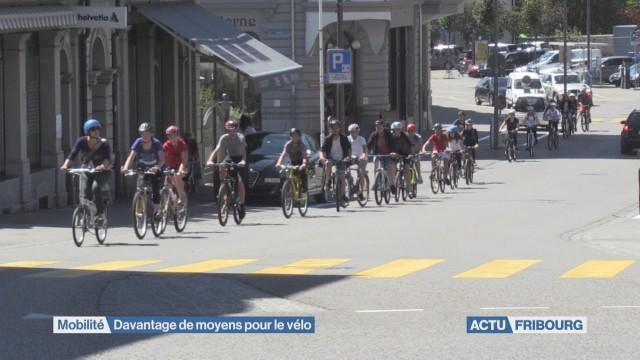 Des moyens pour les vélos