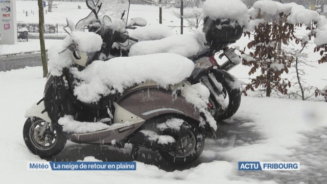 La neige de retour en plaine
