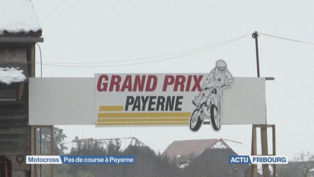 Pas de Motocross à Payerne
