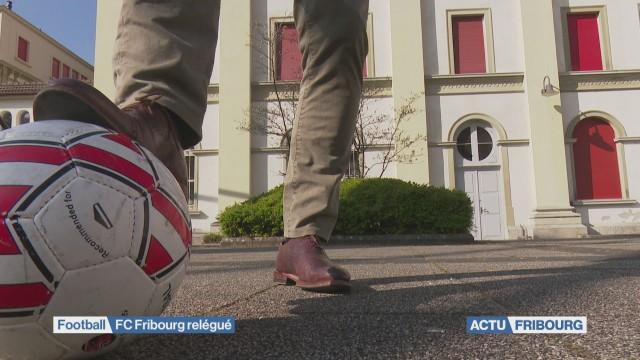 Le FC Fribourg est officiellement relégué