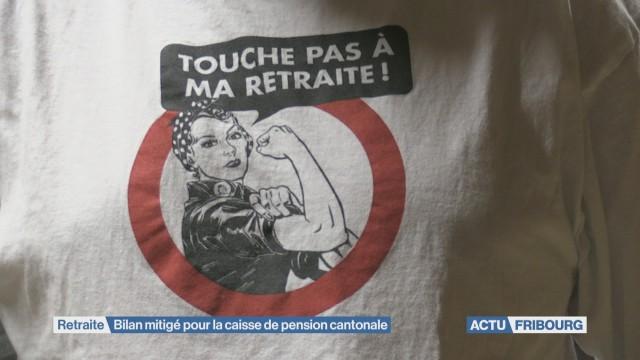 Bilan mitigé pour la caisse de pension cantonale