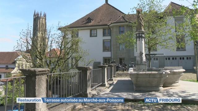 Terrasse autorisée au Marché-aux-Poissons