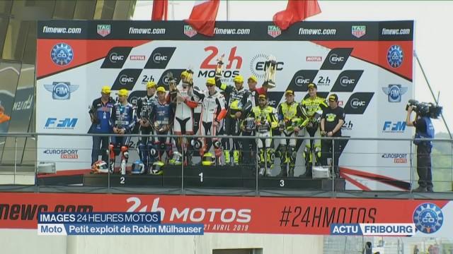 Robin Mulhauser et son équipe brillent aux 24 Heures du Mans