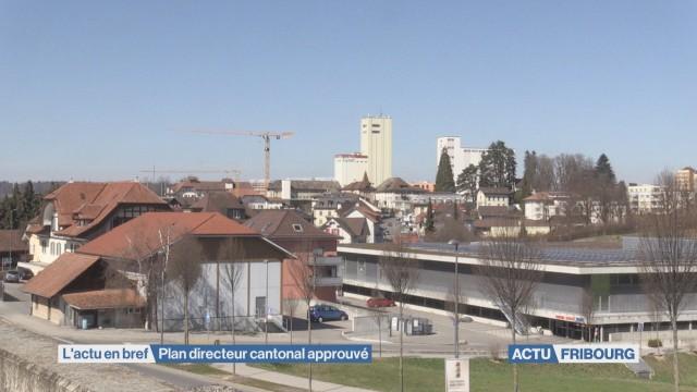 Plan directeur cantonal approuvé.