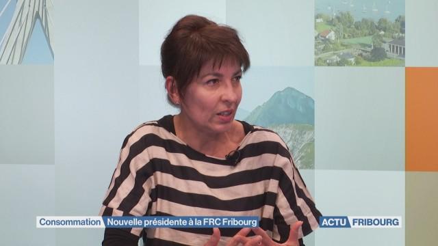 Nouvelle présidente à la FRC Fribourg