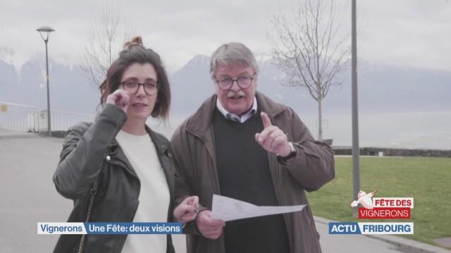 Les visages fribourgeois de la Fête des Vignerons