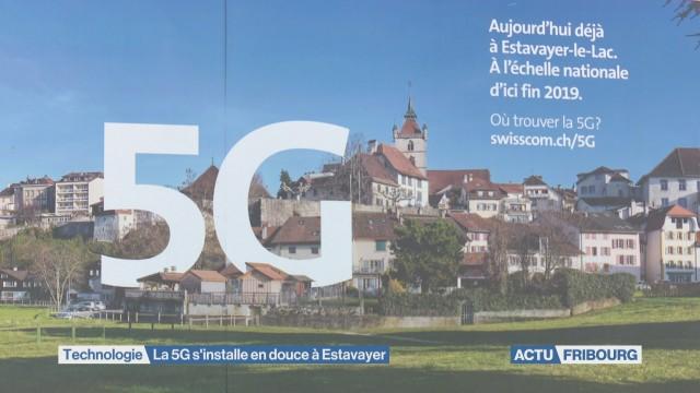 La 5G s'installe en douce à Estavayer-le-Lac
