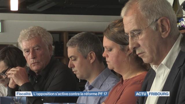 L'opposition s'active contre la réforme PF 17