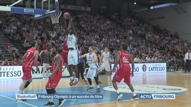 Fribourg Olympic à un succès du titre