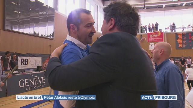 Petar Aleksic reste à Olympic