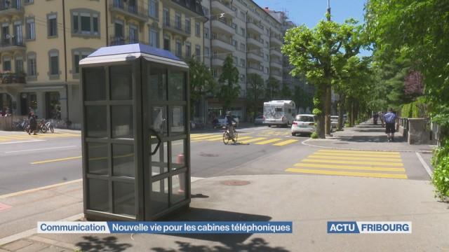 Nouvelle vie pour cabine téléphonique