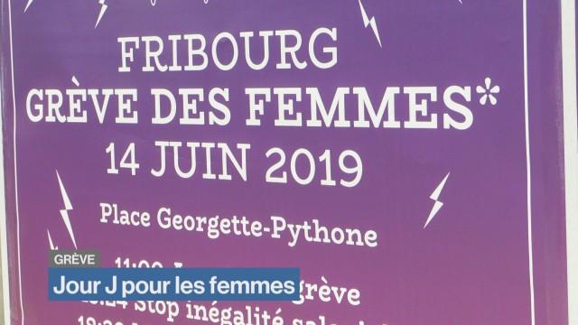 Jour J pour la Grève des femmes