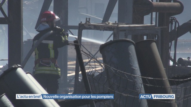 Nouvelle organisation pour les pompiers
