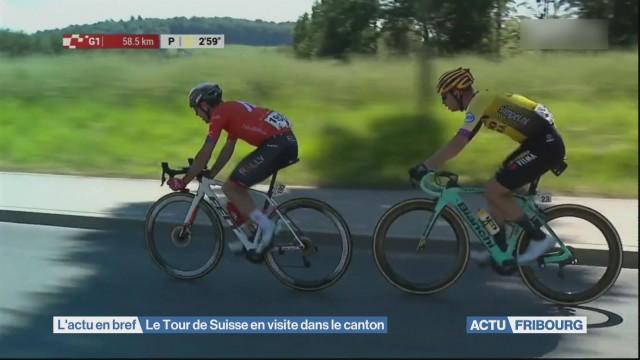 Le Tour de Suisse en visite dans le canton