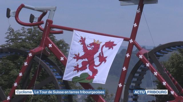 Le Tour de Suisse en terres fribourgeoises