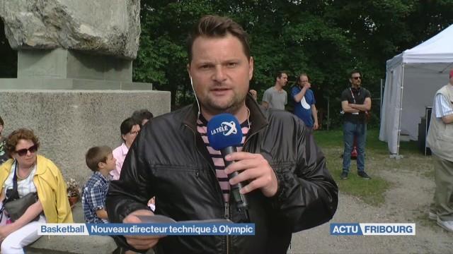 Michaël Studer à Olympic
