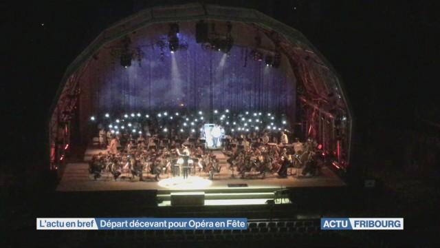Départ décevant pour Opéra en fête