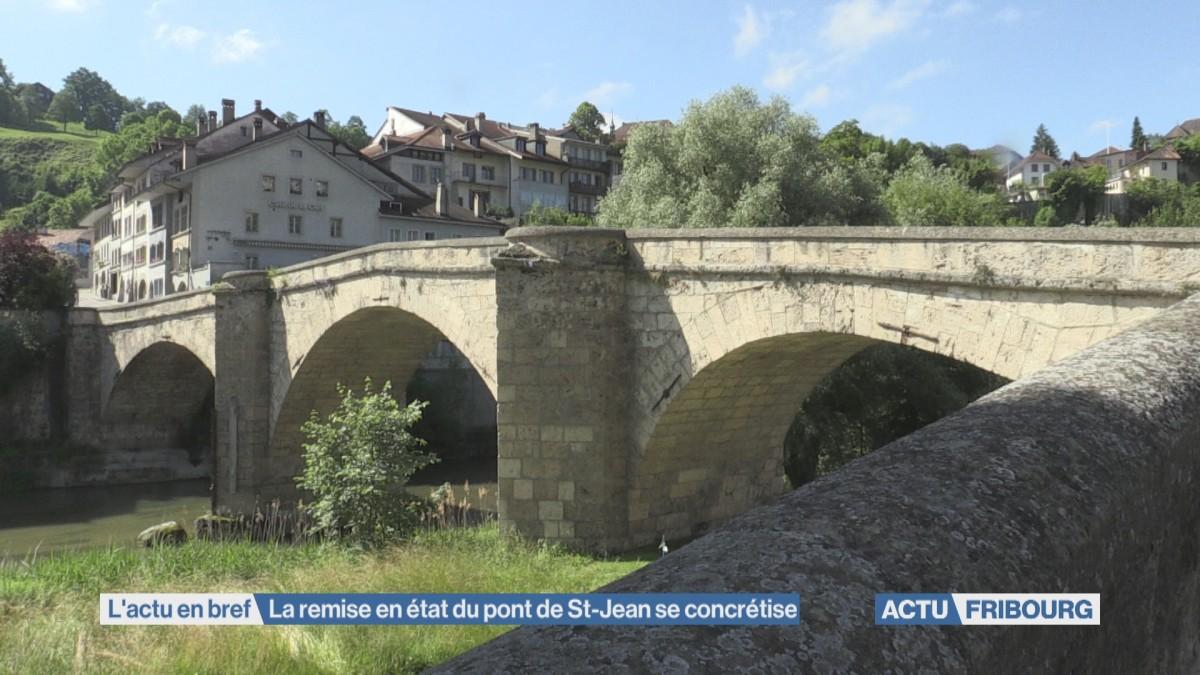Le Pont de St-Jean sera remis à neuf