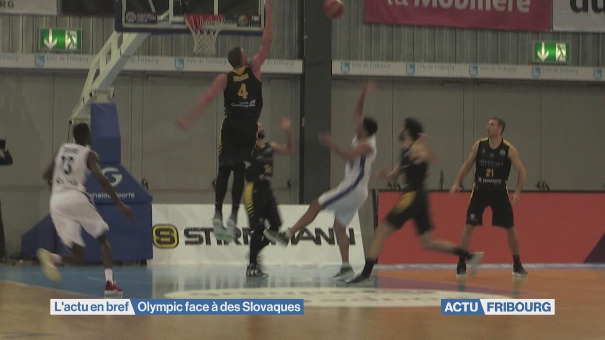 Olympic face à des Slovaques