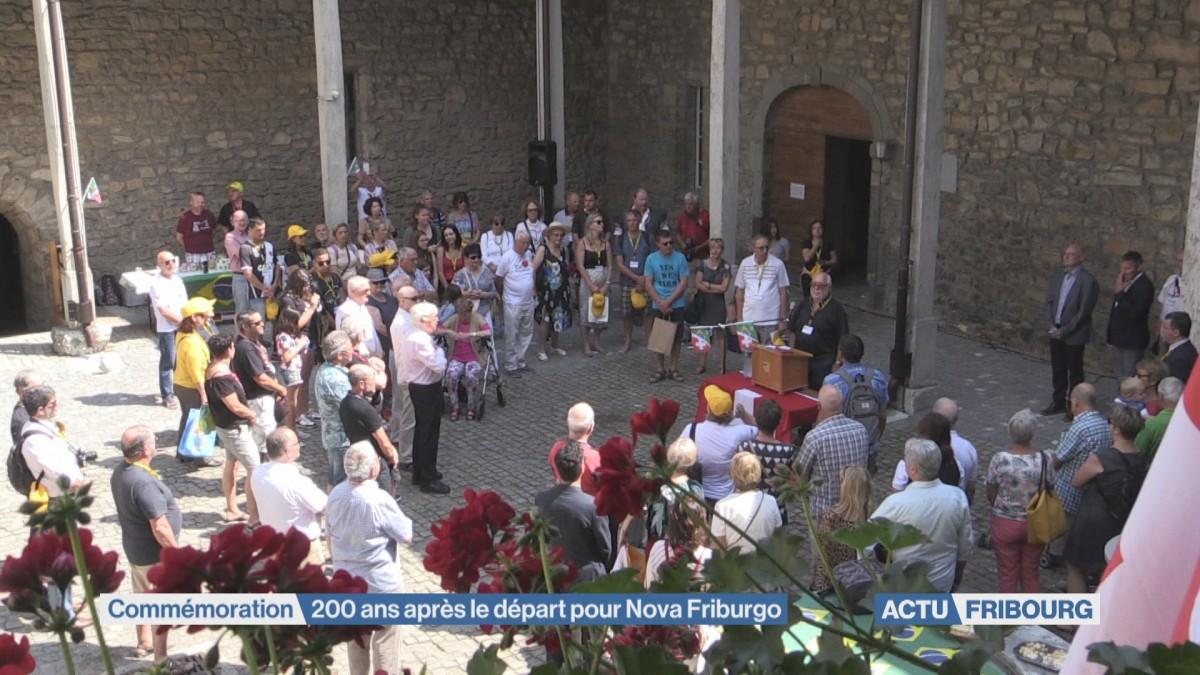 200 ans après le départ pour Nova Friburgo
