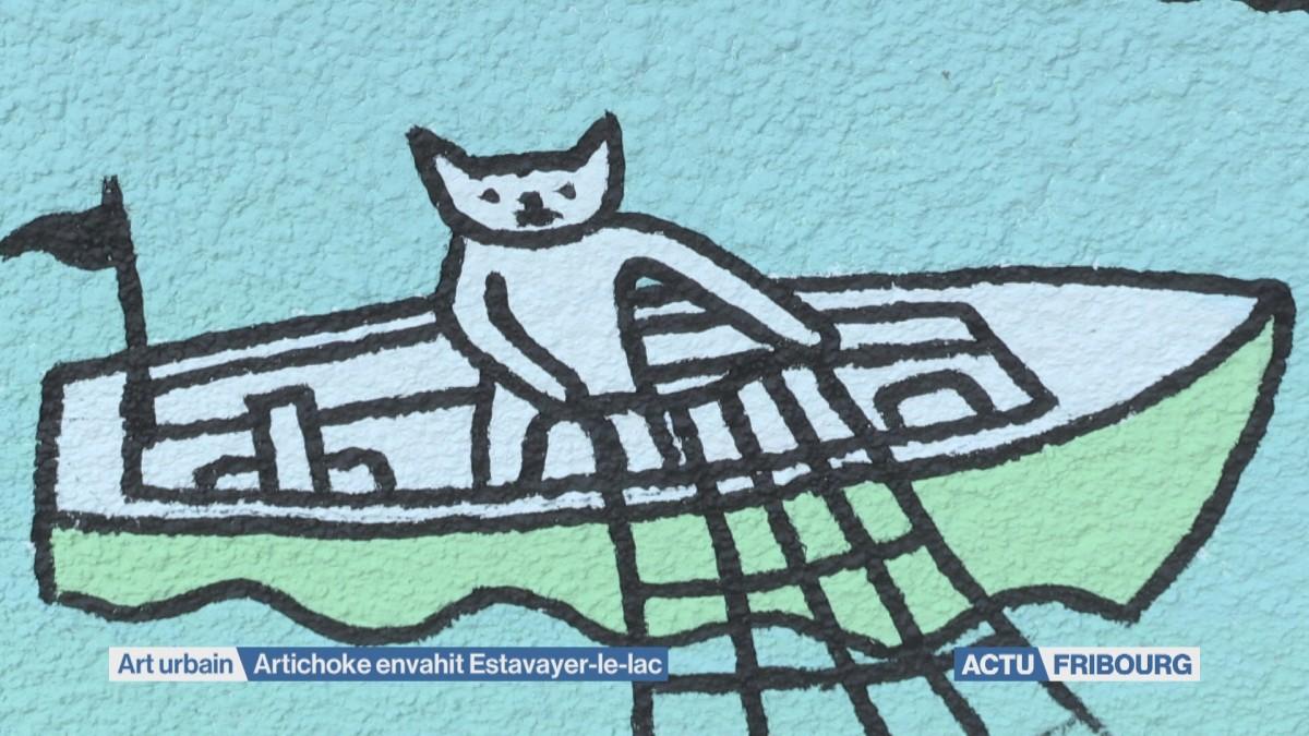 Artichoke envahit Estavayer-le-lac