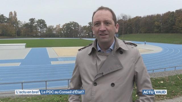 Le PDC Vaud se lance dans la course au Conseil d'Etat