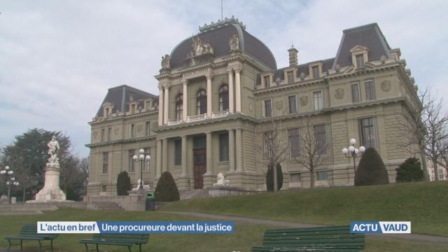 Une procureure devant la justice