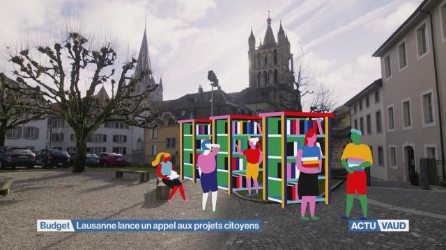 Lausanne lance un appel aux projets citoyens.