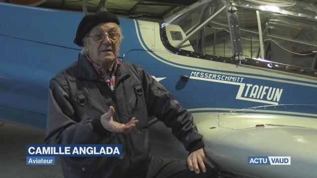 Camille Anglada, aviateur infatigable