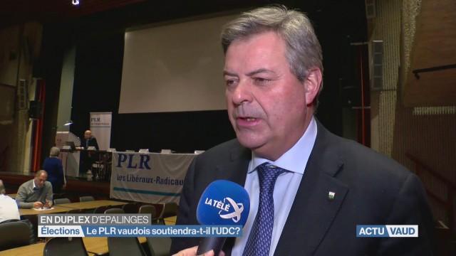 Le PLR Vaudois soutiendra-t-il le candidat UDC?