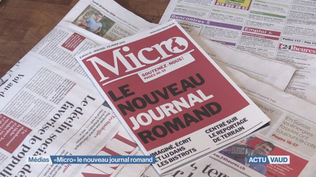 Micro: Un nouveau journal dans le paysage romand