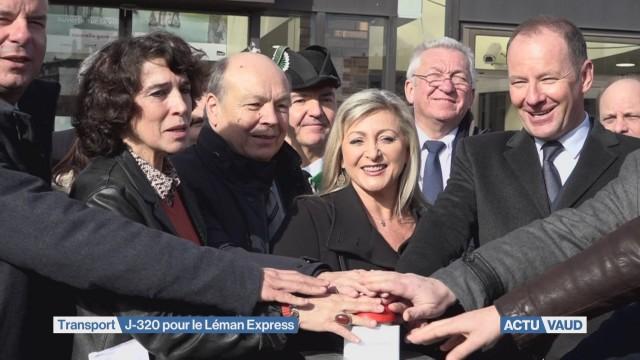 Le compte à rebours du Léman Express est lancé