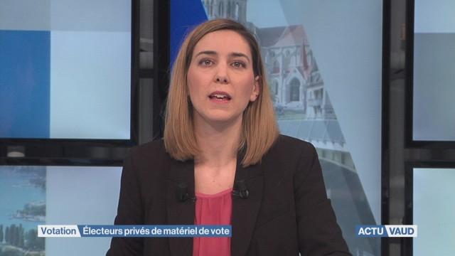 Électeurs privés de matériel de vote