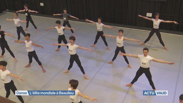 La crème des danseurs à Lausanne