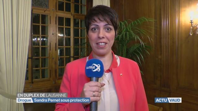 Sandra Pernet sous protection