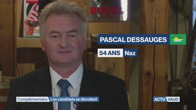 Rencontre avec Pascal Dessauges