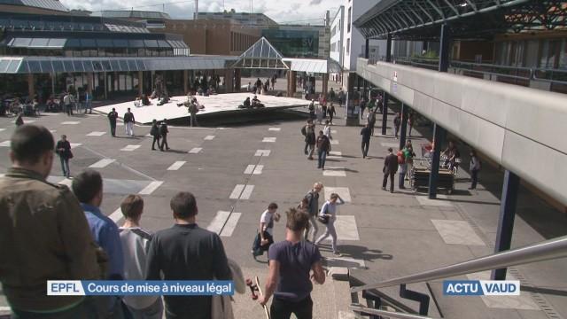 EPFL: cours de mise à niveau légal