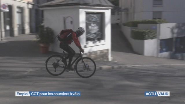 CCT pour les coursiers à vélo
