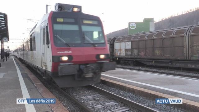 La ligne Moudon-Palézieux interrompue durant 4 mois