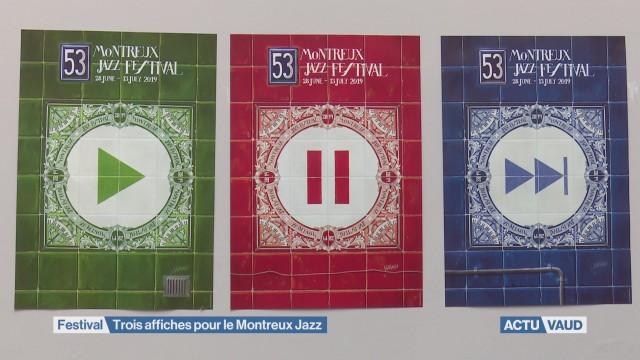 Triptyque pour le 53e Montreux Jazz