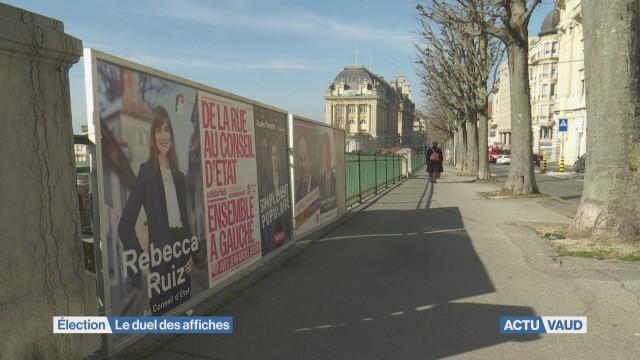 Élection complémentaire: le duel des affiches