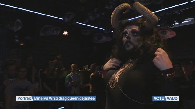 Minerva Whip, drag queen déjantée