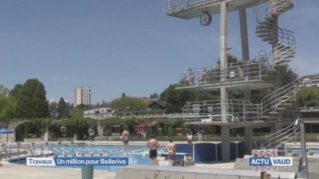 La piscine de Bellerive a des problèmes d'étanchéité