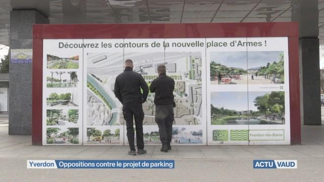 Du nouveau pour le projet de parking sur le place d'Armes