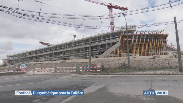 Le Stade lausannois sera équipé d'une pelouse synthétique