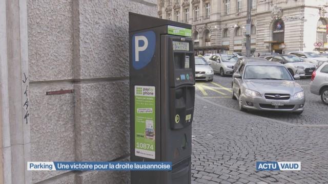Parking: une victoire pour la droite lausannoise