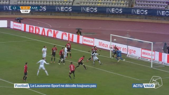 Le Lausanne-Sport ne décolle toujours pas