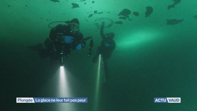 La plongée au chaud sous la glace