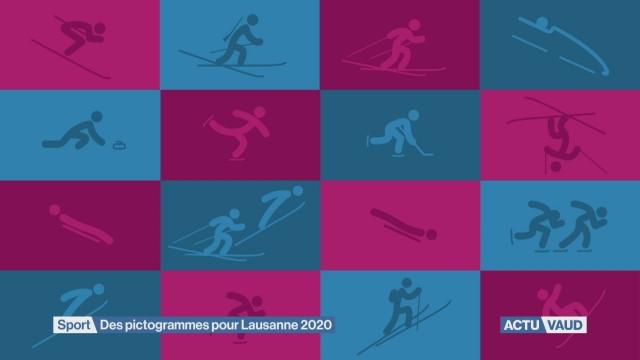Nouveaux pictogrammes pour Lausanne 2020